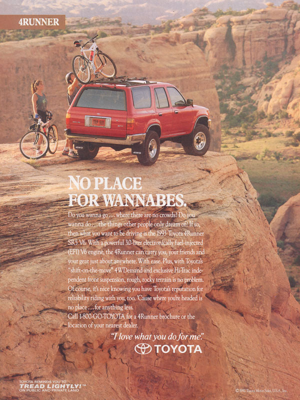 Suv Ads In Time Magazine